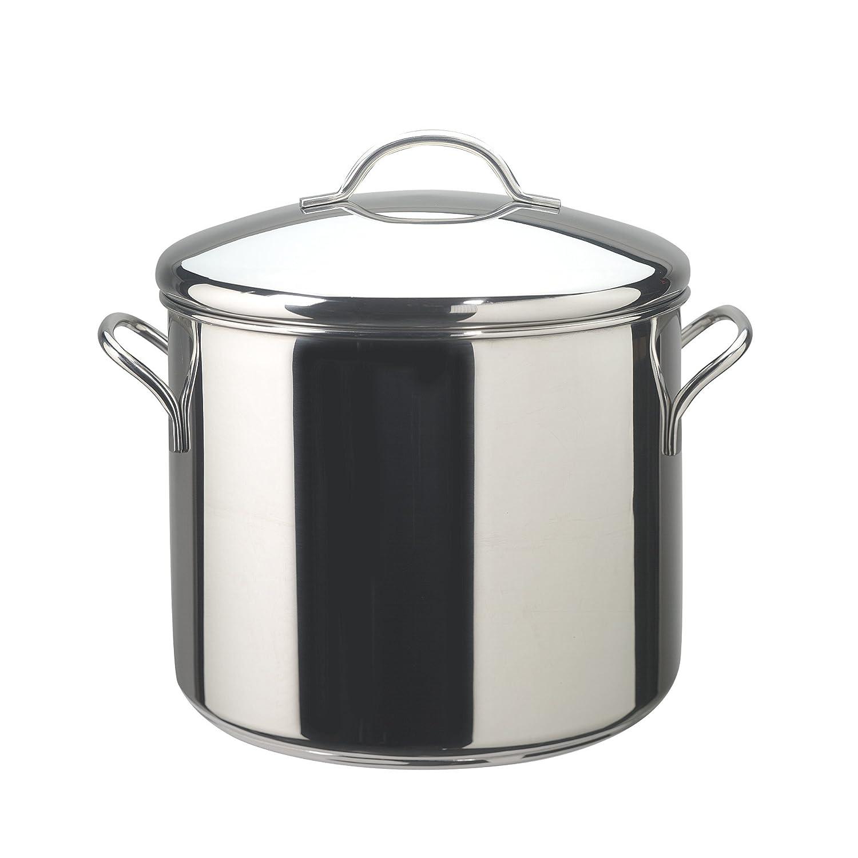 B00004RFK7 Farberware 50008 Classic Stainless Steel Stock Pot/Stockpot with Lid - 12 Quart, Silver 71ovLUxY20L