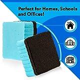 12-Pack of Premium Magnetic Dry Erase Erasers/Dry