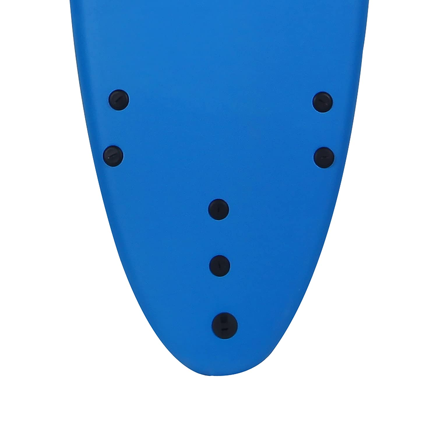 Blue A ALPENFLOW 8 Soft Top Surfboard Foamie Surf Boards Surfing Board with Leash and Removable Fins