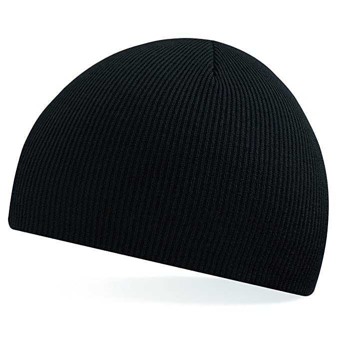 04b0fb20e6c Original pull-on beanie BC044 (Black)  Amazon.co.uk  Clothing