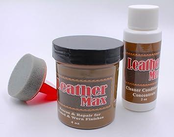 Amazon.com: Furniture Leather Max Refinish and Restorer Kit / 4 Oz ...