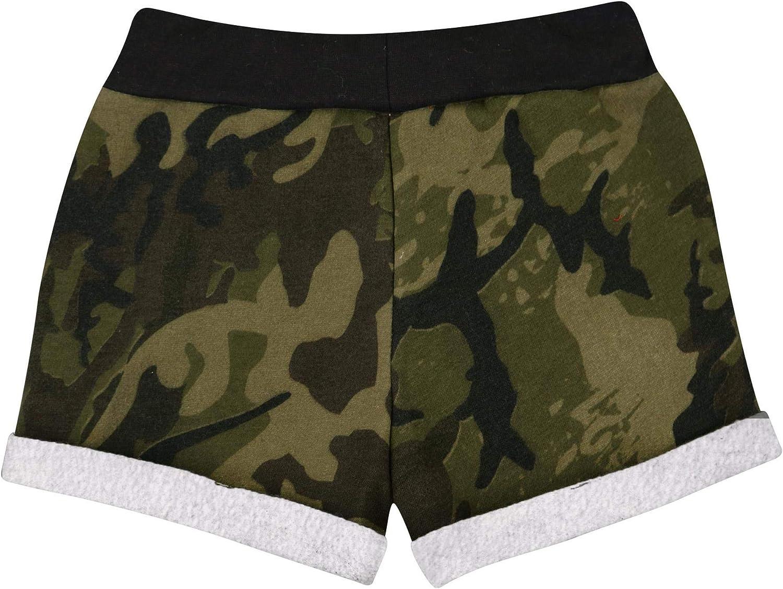 A2Z 4 Kids Kids Girls Shorts Fleece Camouflage Tartan Gym Dance Sports Trendy Fashion Summer Hot Short Running Pants New Age 5 6 7 8 9 10 11 12 13 Years