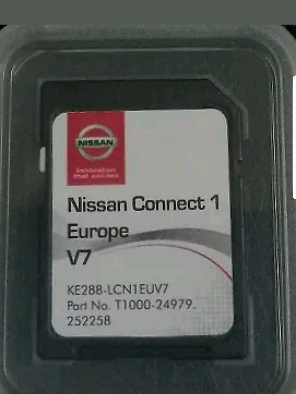 Karte Sd Gps Europa 2017 V7 Nissan Connect 1 Lcn1 No Dvd Case Navigation