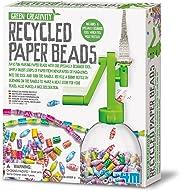 Sprigiona la fantasia e la creatività del tuo bambino con questo gioco  per creare delle perline a partire da striscie di carta. Un