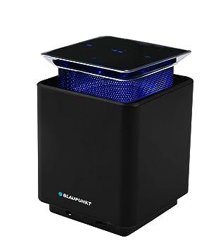 Blaupunkt BLP 3300.133 - Altavoz inalámbrico Bluetooth Portatil, Manos Libres, Pantalla Táctil, Aluminio, Batería Recargable 3W, Negro: Amazon.es: ...