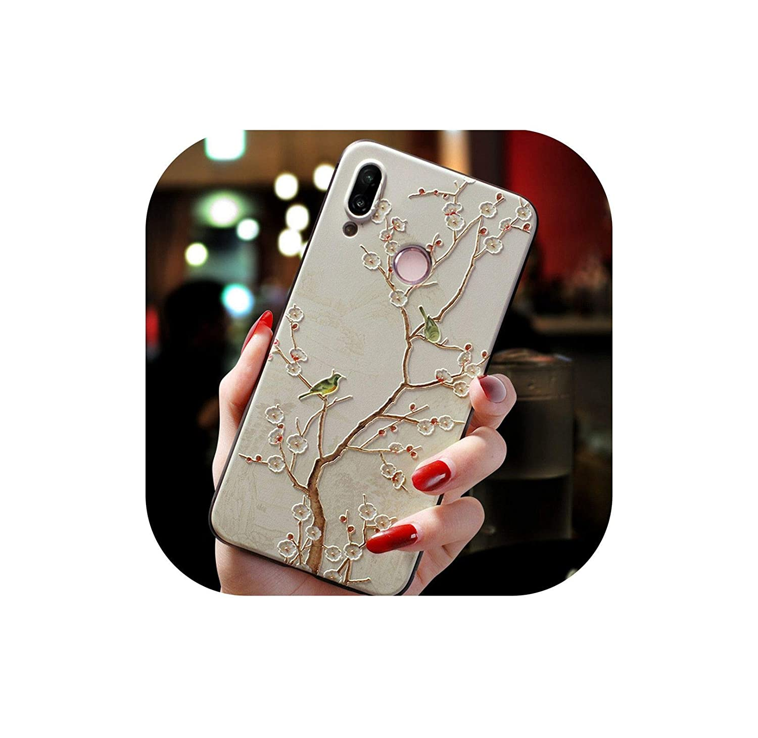 Amazon.com: 3D Relief TPU for Huawei Honor 7A View 20 8X 7A ...
