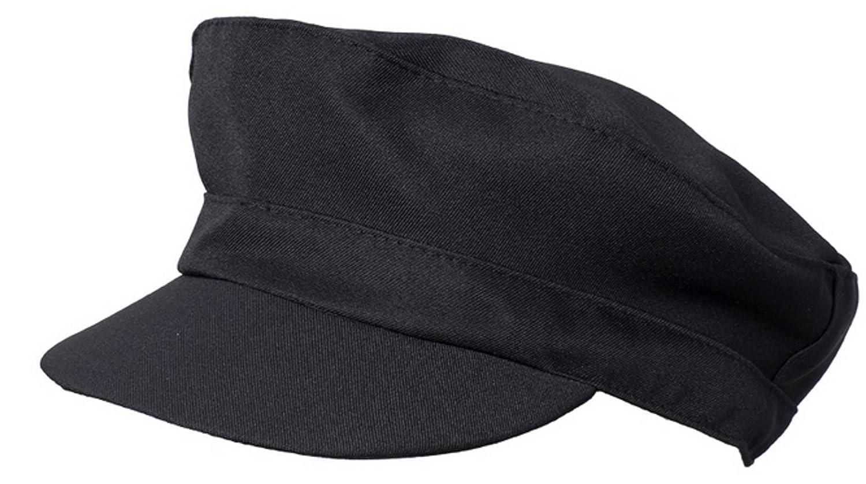 Cappello unisex nero per bar, ristoranti, caffè Naxos MT0209