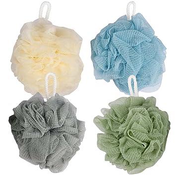 Delicieux Kicosy Bath Sponge Loofah Shower Sponge Mesh Pouf Loofahs Shower Ball Mesh  Bath And Shower Sponge
