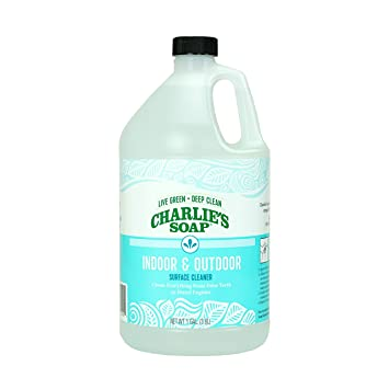 Charlie's Soap - Indoor-Outdoor Surface Cleaner - Non-Toxic, Biodegradable,  Multi-Surface Use - (1