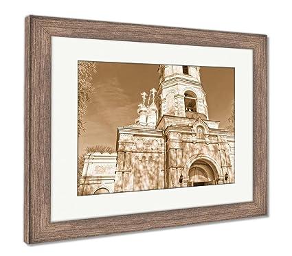 Amazon Com Ashley Framed Prints Entrance Of St Nicholas Orthodox