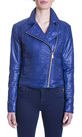 e7d4b07f33 Trussardi Jeans - Giubbino Trussardi Jeans modello chiodo Col ...