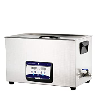 Skymen Professional Ultrasonic Cleaner 30L for Jewelry, Watch, Glass, Auto  Car Engine Parts, Gun, Hospital Medical Devices Cleaning