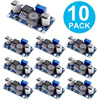 Erayco 10 Pack LM2596 DC to DC Buck Converter 3.0-40V to 1.5-35V Power Supply Step Down Module