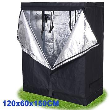Costway Hydroponic Grow Tent Room Set Light Box Kit Dark Room Multi Vents Aluminium Various Size  sc 1 st  Amazon UK & Costway Hydroponic Grow Tent Room Set Light Box Kit Dark Room ...