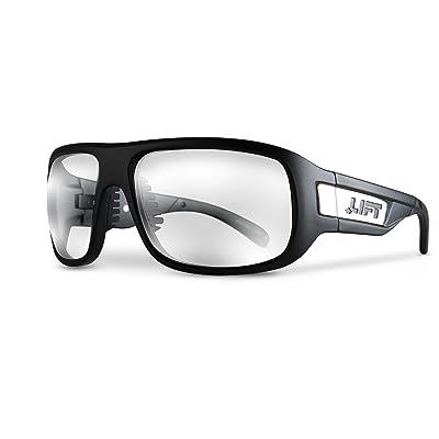 LIFT Safety BOLD One Size Safety Glasses (Matte Black Frame/Clear Lens): Automotive