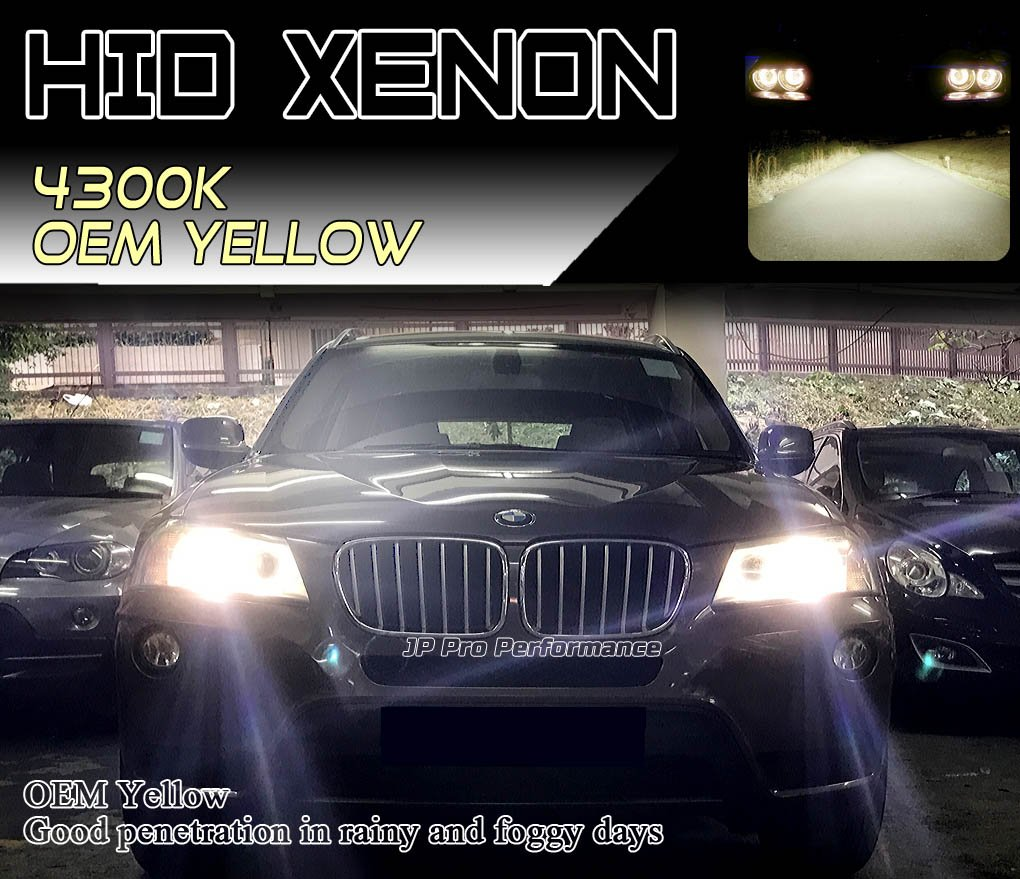 Heavy Duty D4S D4R HID Xenon Headlight Replacement Bulbs 35W Non-Mercury High Low Beam 12000K Twilight Pack of 2