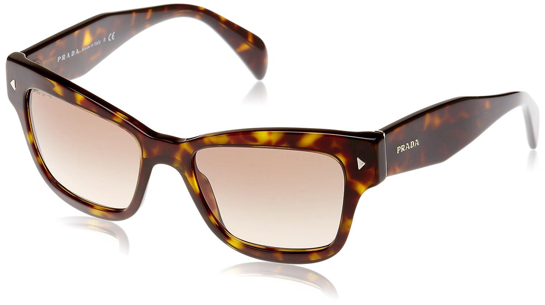 08ab73176fd9c ... purchase amazon prada womens pr 29rs sunglasses havana light brown grad  light grey 51mm clothing 719bc