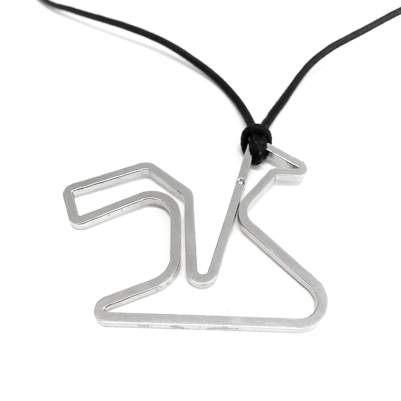 Circuitos Colgante Jerez con Diamante Allo Start: Amazon.es ...