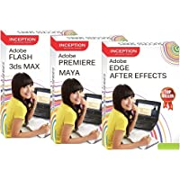 Learn Adobe Flash, Adobe After Effects, Adobe Premiere, Adobe Edge, 3DS MAX and MAYA - ANIMATION AND MOVIE MAKING (Inception Success Series - 3 CDs)