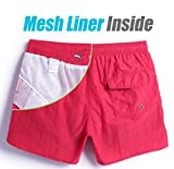 MaaMgic Mens Slim Fit Shorts Quick Dry Swim Trunks