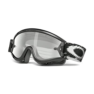 Oakley L-Frame with Clear Lens included MX Goggles,L Frame Frame/Grey & Clear AF Lens,one size: Sports & Outdoors