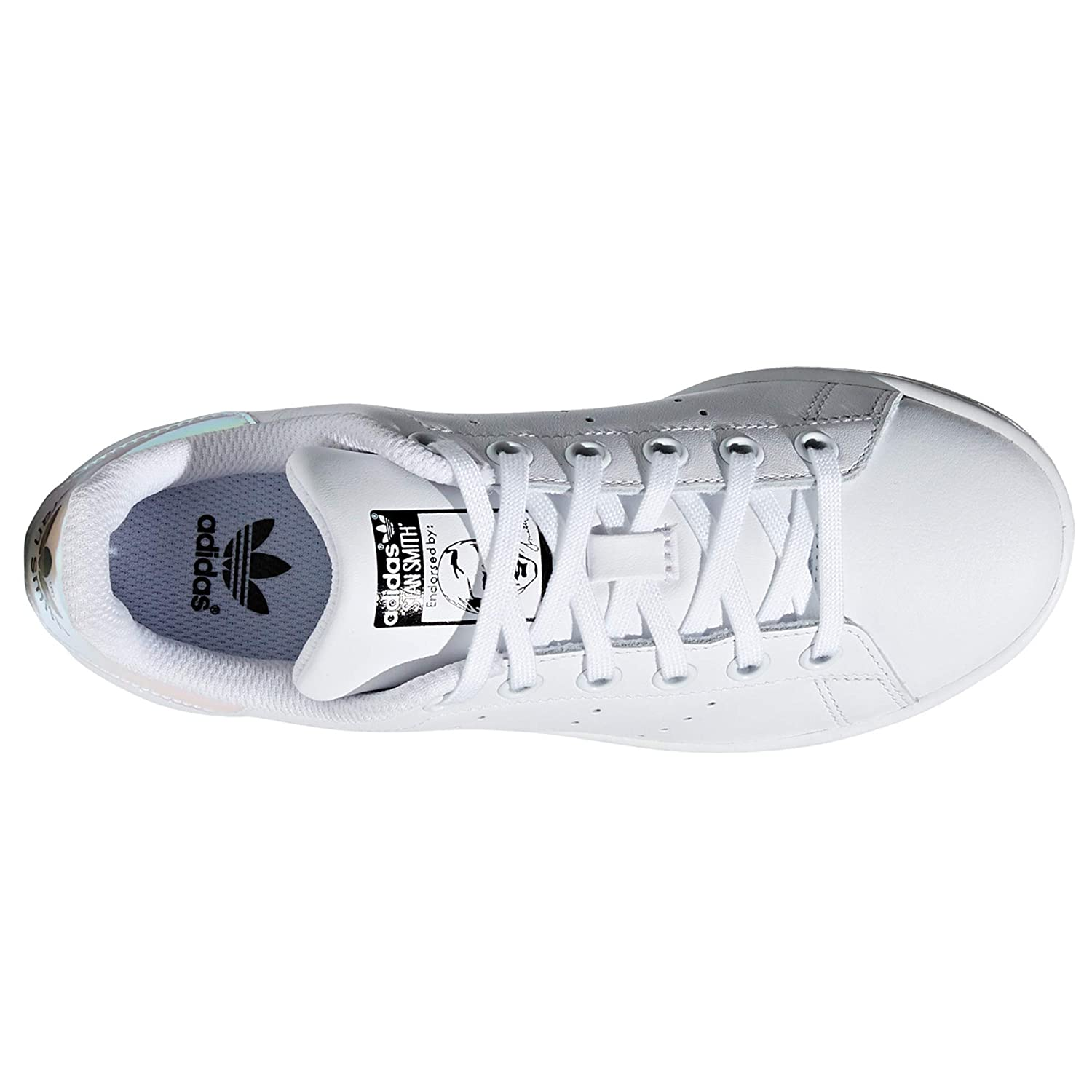 adidas Stan Smith Silber Schuhe Damen. Sneaker. Low Top