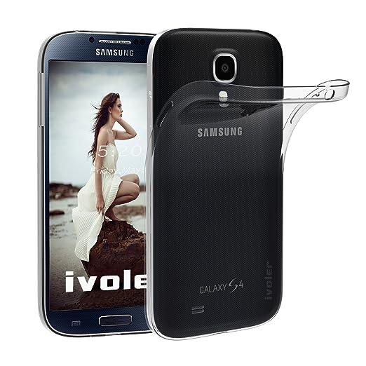 47 opinioni per Samsung Galaxy S4 Custodia, iVoler® Soft TPU Silicone Case Cover Bumper