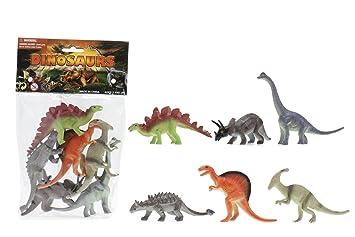 Cosas 728045 - Bolsa 6 Dinosaurios 13 Cm