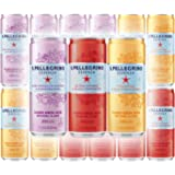 San Pellegrino Dark Morello Cherry & Pomegranate, Lemon & Lemon Zest, And Tangerine & Wild Strawberry - Variety Pack, 11.15 Fl Oz Can (Pack of 12, Total of 133.8 Fl Oz)