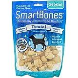 SmartBones Rawhide-Free Dental Dog Chew, Vegetable & Chicken Dog Chew