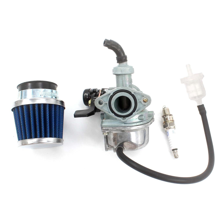 aisen 22mm pz22 carburateur filtre air bougie d 39 allumage filtre essence pour 110cc. Black Bedroom Furniture Sets. Home Design Ideas