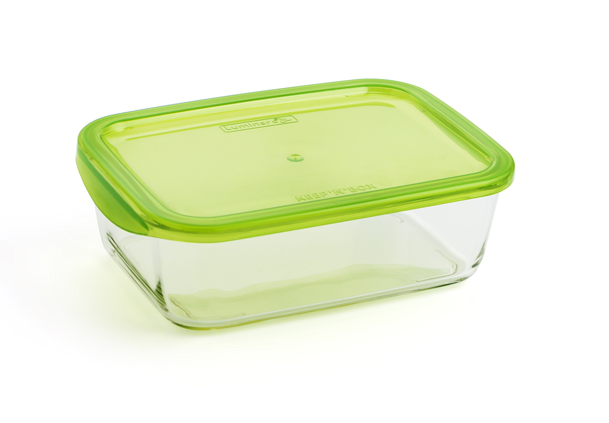 Luminarc KeepnBox - Recipiente rectangular con tapa, 116 cl product image