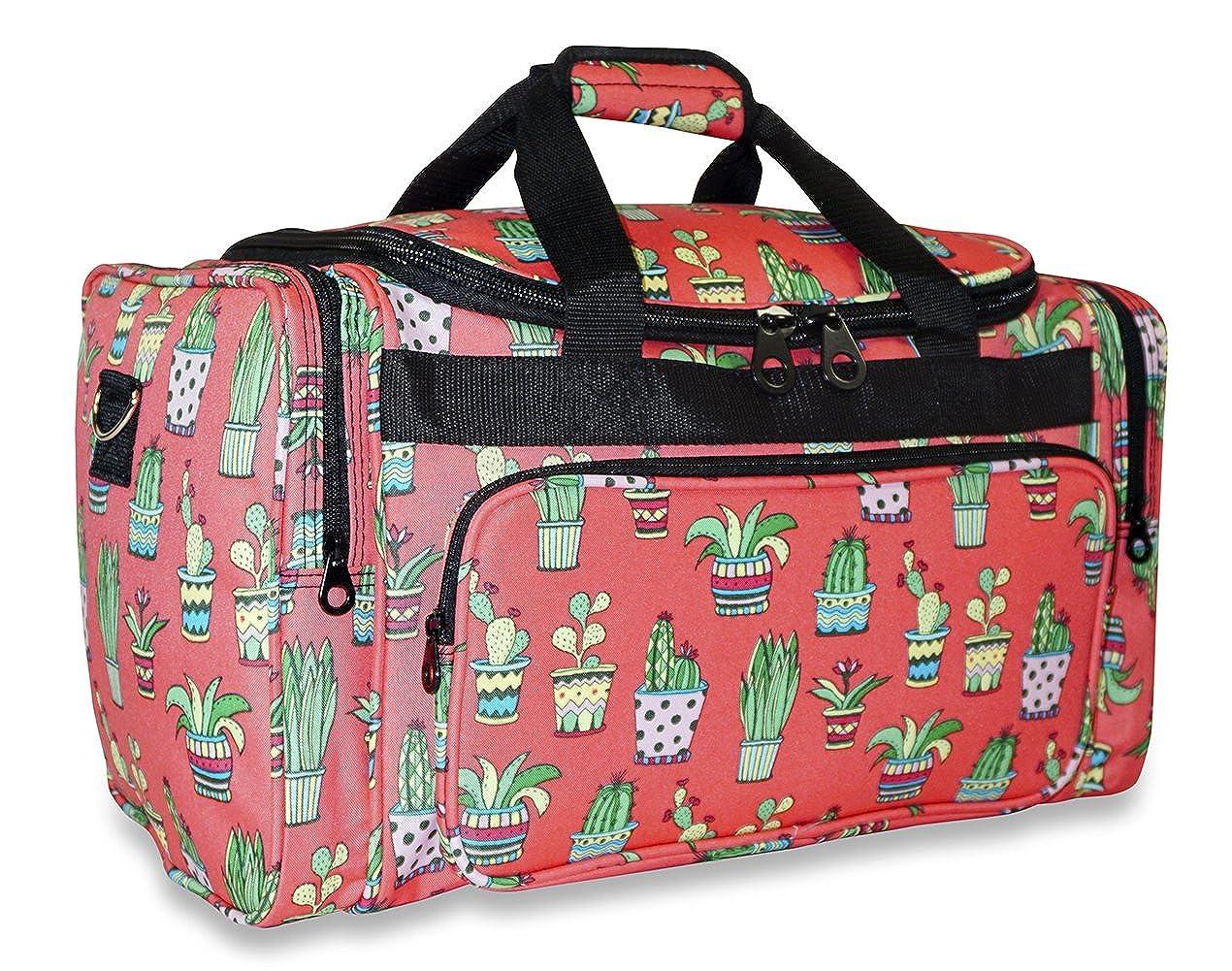 44e1fedab2be Ever Moda Cactus Duffle Bag