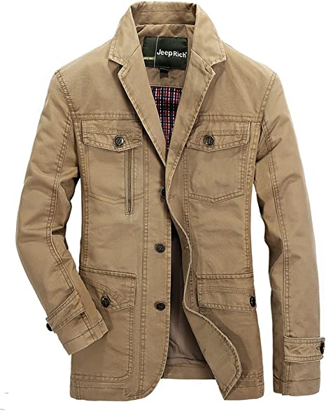 Classique Costume Lavage Collar Chaud Ws668 Homme Manteaux CeordxBW