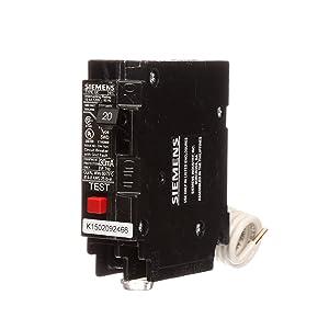 QE120 20-Amp Single Pole 120-Volt Ground Fault Equipment Protection Circuit Breaker