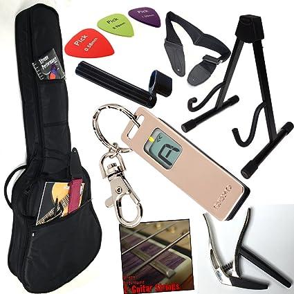 Starter – Juego de accesorios para guitarra eléctrica, E de ...