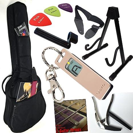 Starter – Juego de accesorios para guitarra eléctrica, E de guitarra – Todo lo que