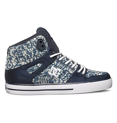 f2f674f47d599 Amazon.com | DC Women's Spartan High Fashion Sneaker | Skateboarding