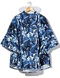 43DEGREES レインポンチョ [ 全10柄 / フリーサイズ ] キッズ用 ランドセル対応 (収納バッグ付き/サコッシュバッグタイプ) 雨具 防水 撥水 透湿 レインコート