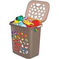 Milton Hamper Plastic Laundry Basket, 35 litres