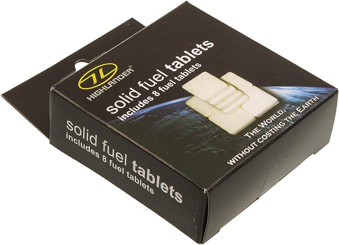 /Blanc HIGHLANDER tablettes de Combustible Solide/