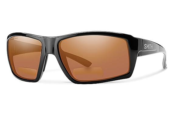258d37c20e Smith Challis Bifocal Polarized Sunglasses - Men s Black Copper Mirror  2.50