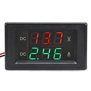 Remarkable Drok Dc 600V 50A Voltmeter Ammeter With 50A Shunt 0 39 Led Dual Wiring Digital Resources Operpmognl