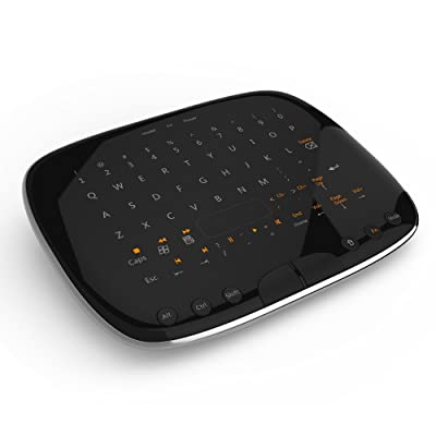 Visenta キーボード&マウス機能搭載 ワイヤレスタッチパッドリモコン MOV9