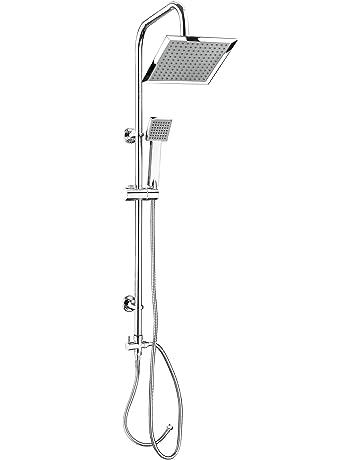 CON:P SA330101 - Conjunto de ducha con barra (cuadrado, 1 función)