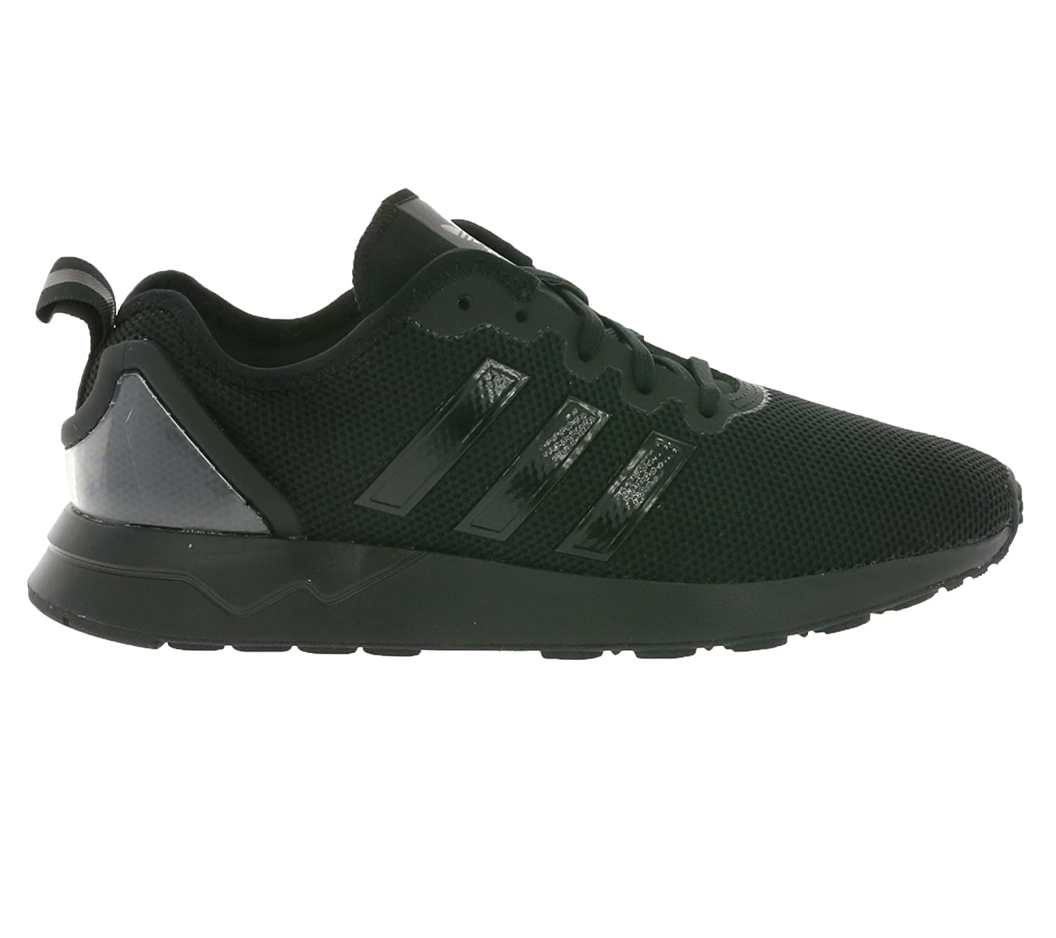 quality design c7cf8 976a6 Amazon.com | adidas Originals ZX Flux Adv J Black Mesh Youth ...