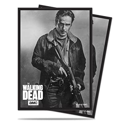 """Ultra Pro The Walking Dead \""""Rick\"""" Deck Protector Sleeves for Magic & Pokemon (50 ct.): Toys & Games [5Bkhe0500261]"""