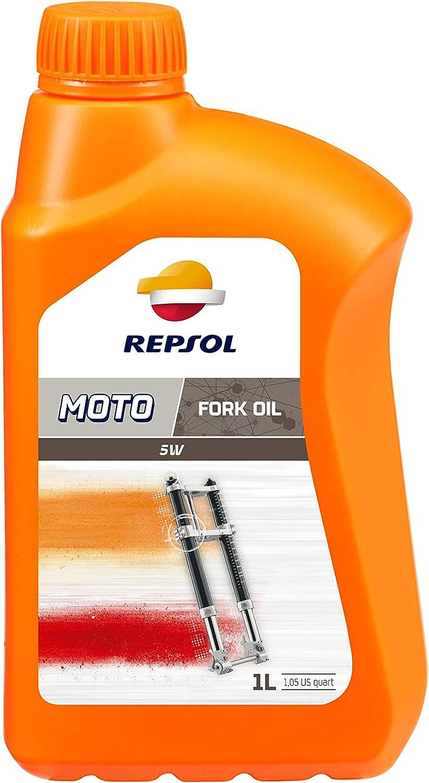 Repsol RP172L51 Fork Oil 5W Aceite de Horquillas Moto, 1 L
