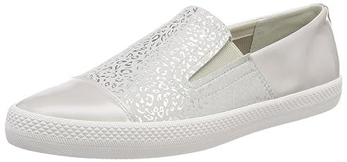 Geox D Ophira B, Zapatillas para Mujer, Blanco (Off White/White), 38 EU