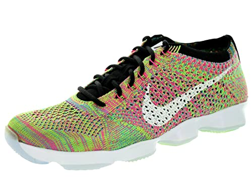 7f08ab6c6dd8 Image Unavailable. Image not available for. Color  Nike Flyknit Zoom Agility  Fitness Women s ...